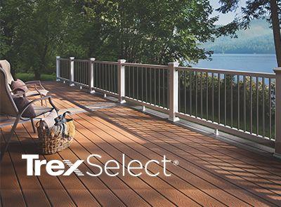 Trex select railing_ barrington deck builder