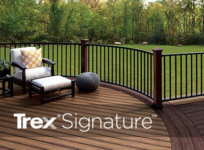 Trex signature railing_ barrington deck builder