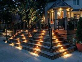 Trex stairs_ Trex lighting_ Composite trex deck