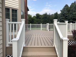 Trex Decking contractor_ Rope swing deck