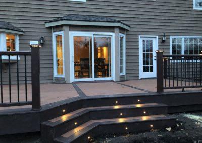 Trex Composite Deck- Tiki Torch