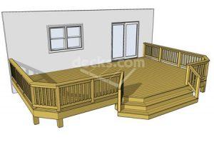 Deck plan- deck ideas- ground level