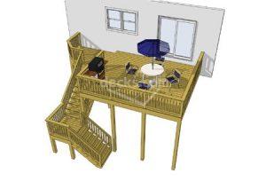 Deck plan- deck ideas- second story