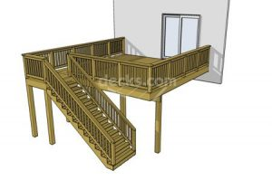 Deck plan- deck ideas- square- second story