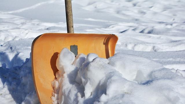Deck snow removal- Lake Zurich