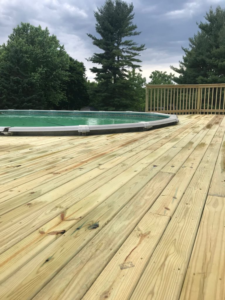 Wood-deck-builder