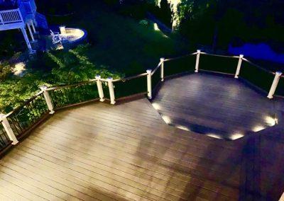 Trex Composite Deck Barrington - Deck Lighting