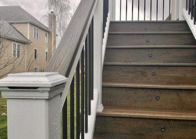Trex Transcend- Deck lighting- Cocktail railing