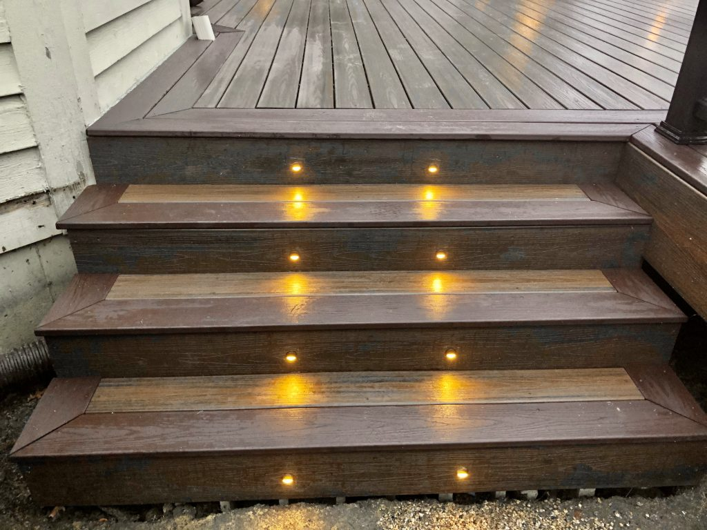 Trex deck lighting- Barrington