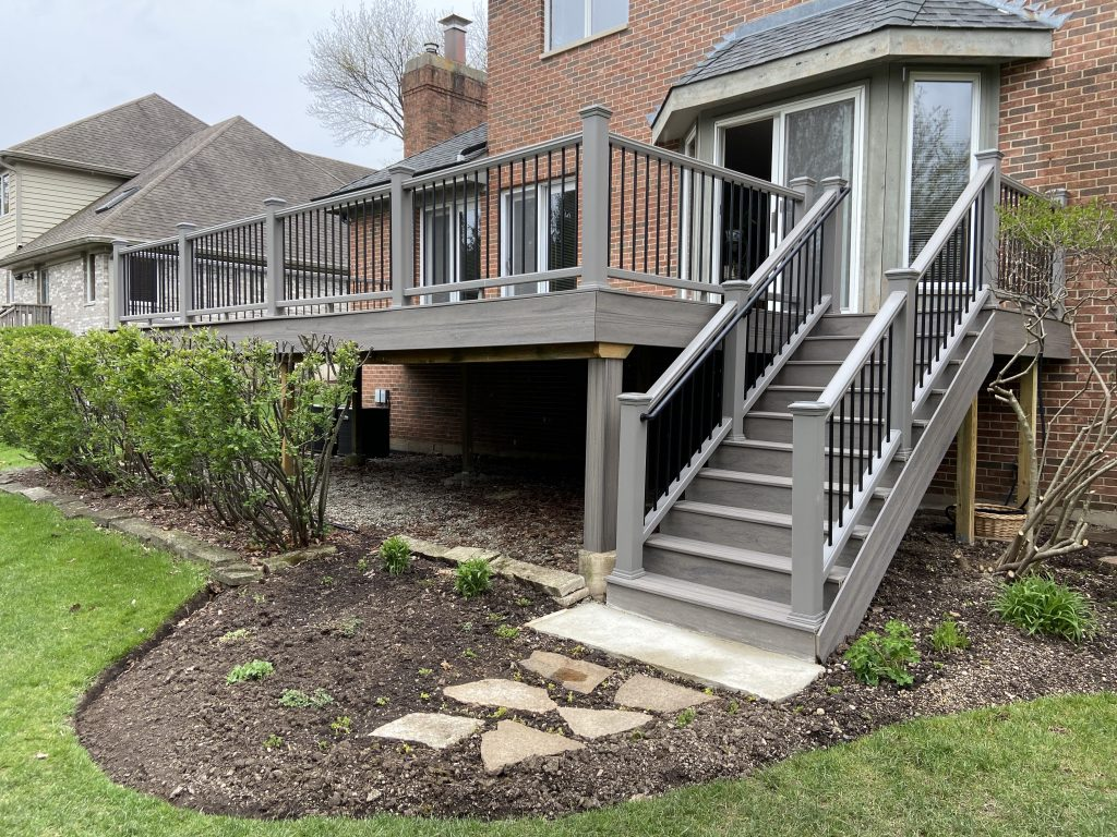 Platinum Decking Trex Deck Builder Chicago Deck Design Deck Ideas