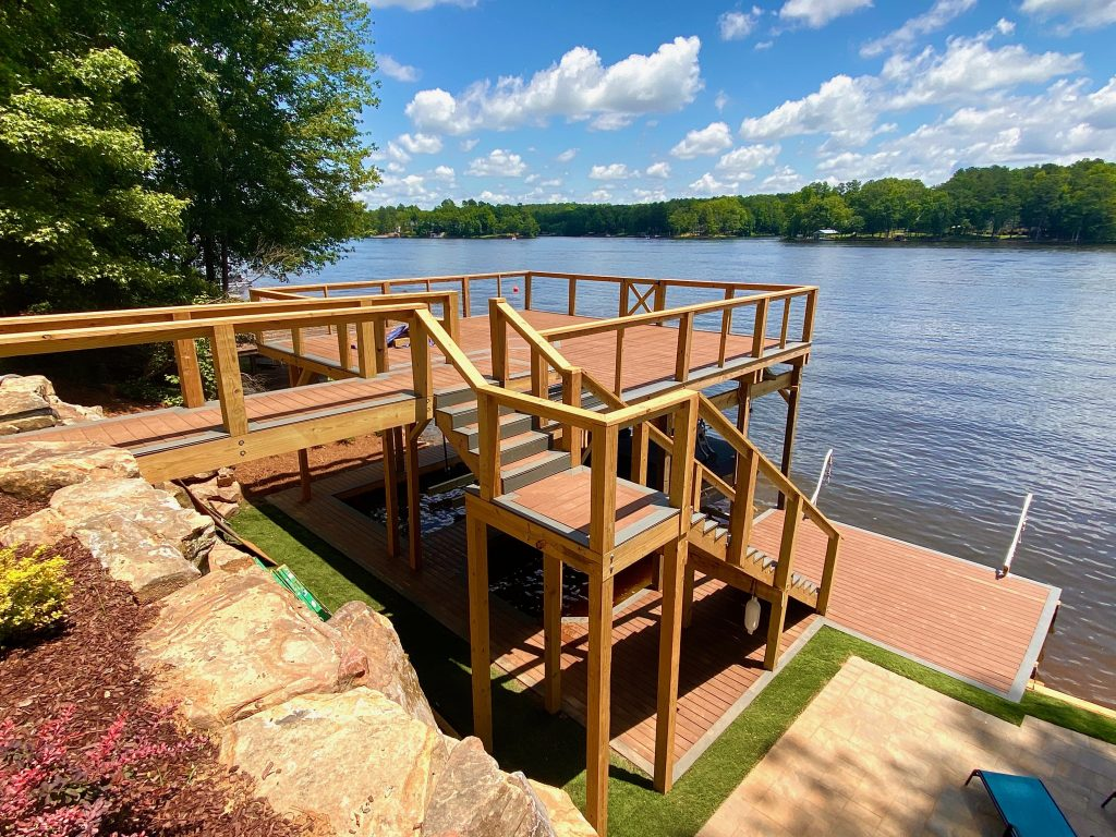 Trex deck- Lake house- Trex Dock