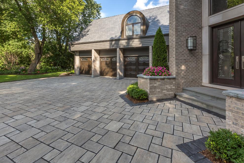 Paver-driveway- stone- driveway