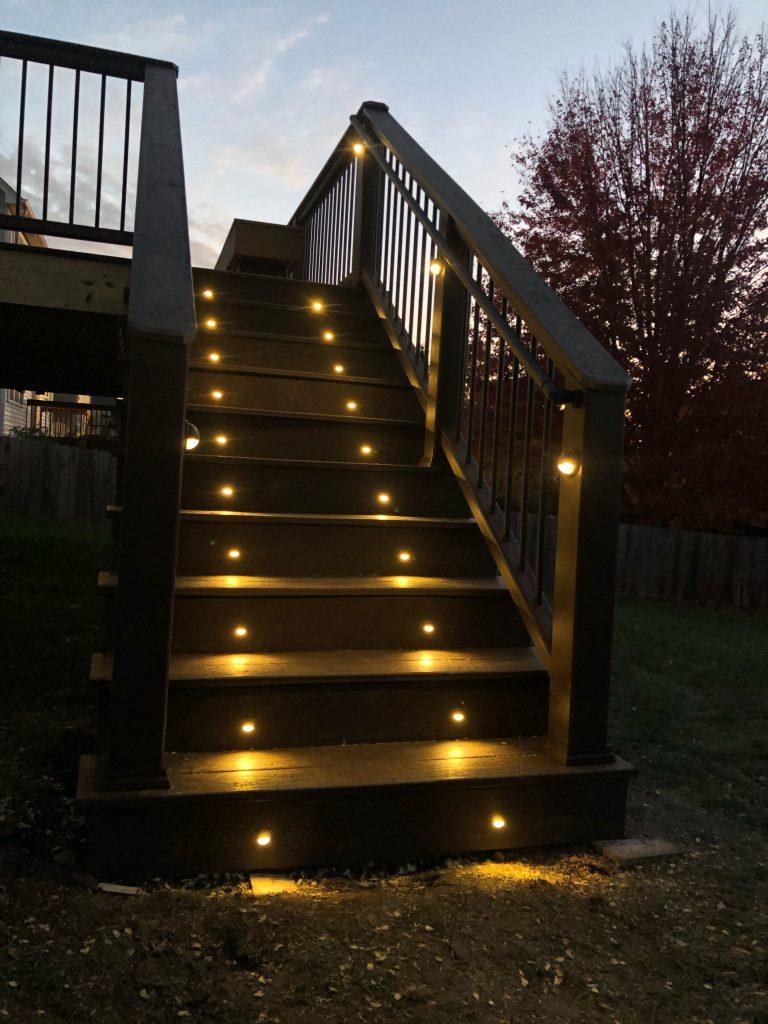 Deck lighting Milwaukee