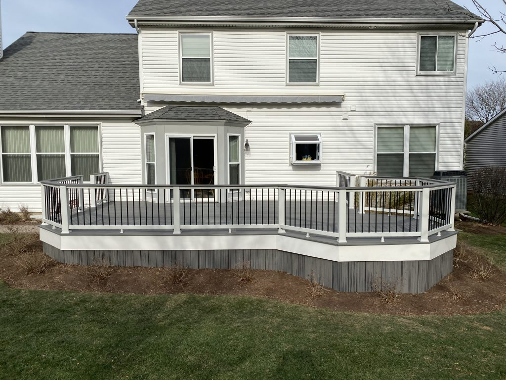 Deck Fascia and deck skirting