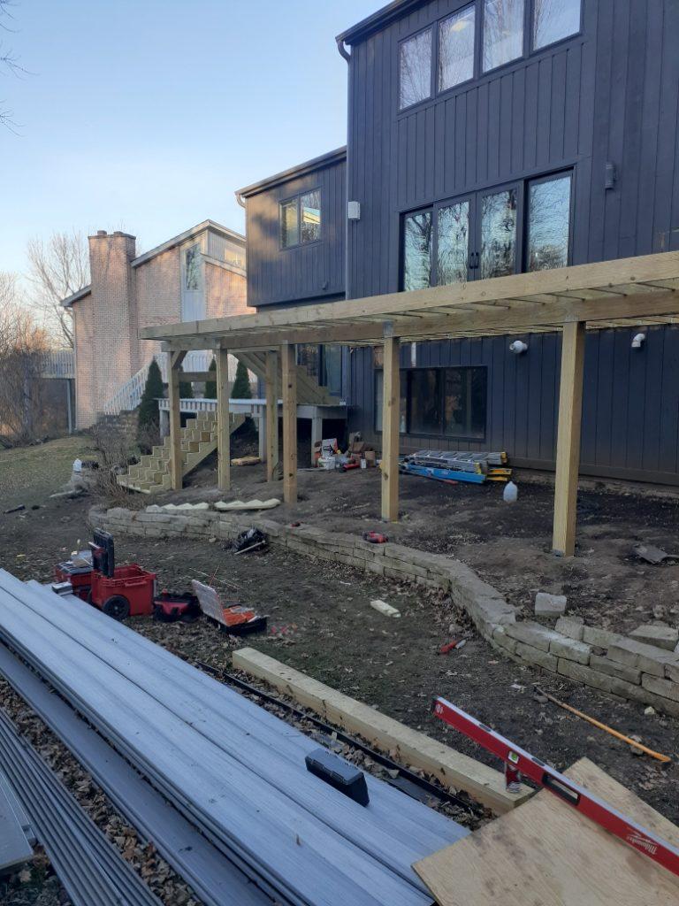 Deck Frame- Deck building