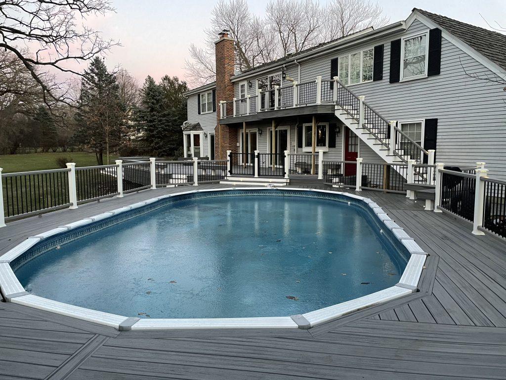 Trex Pool Deck- Island Mist