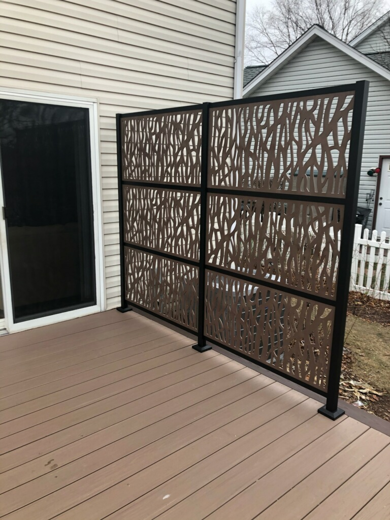Deck Privacy Wall