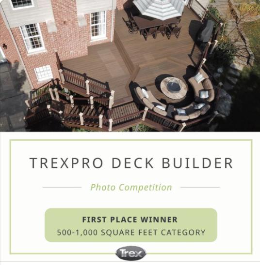 Best Trex composite deck